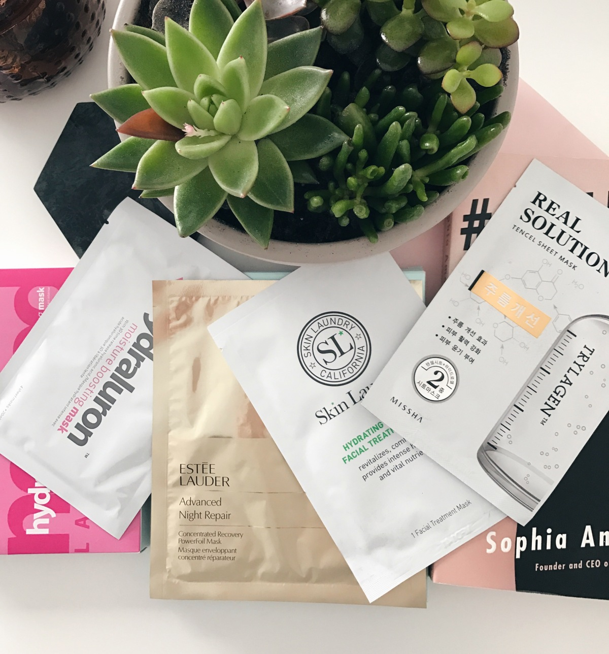 Favourite Sheet Masks